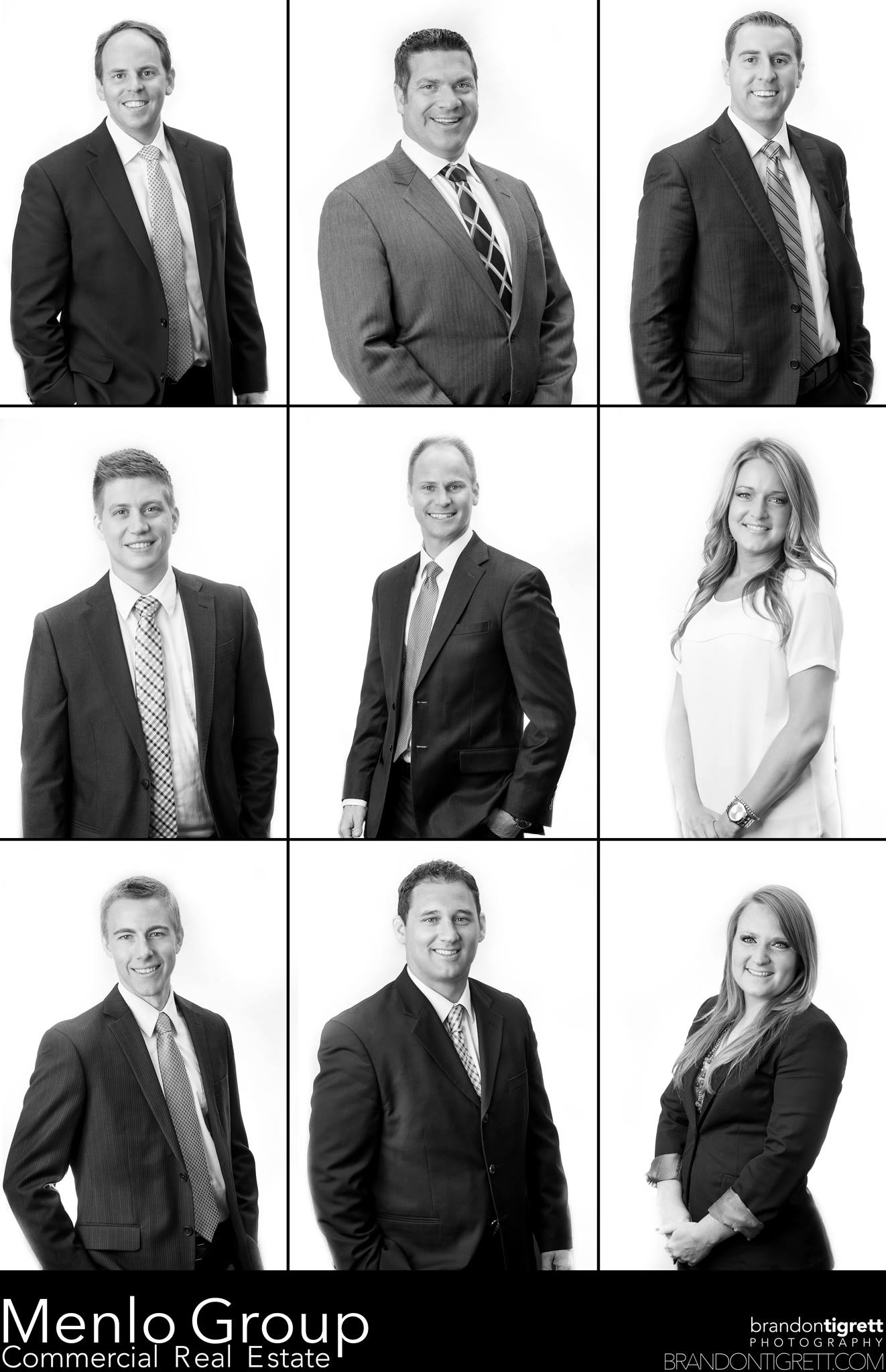 Menlo Group Team Headshots