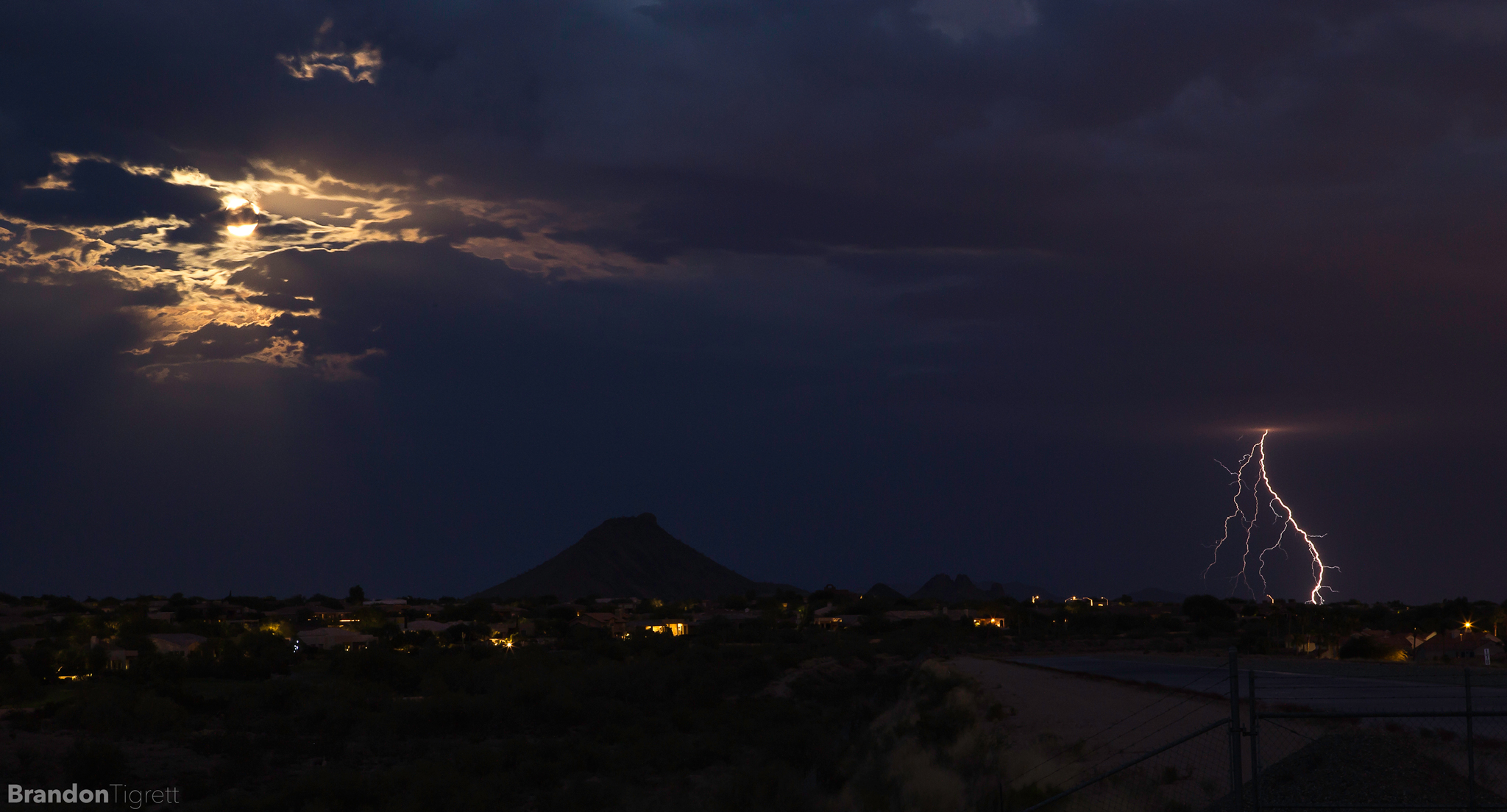 Super moon 2014 | Scottsdale, AZ