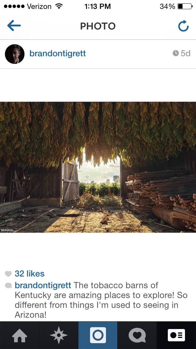 Instagram @BrandonTigrett