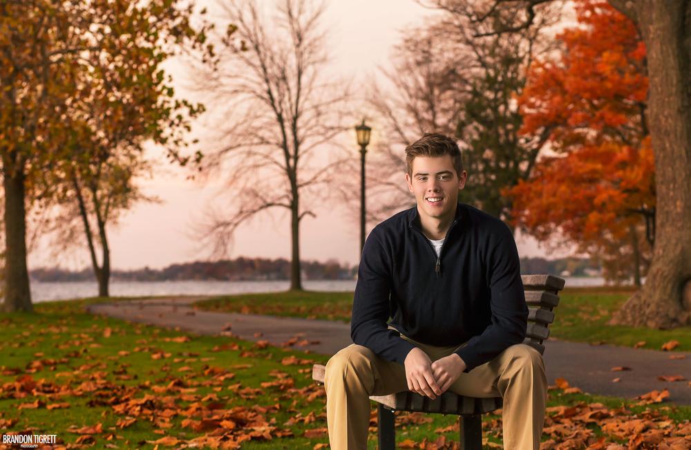 Senior Portrait - sunrise