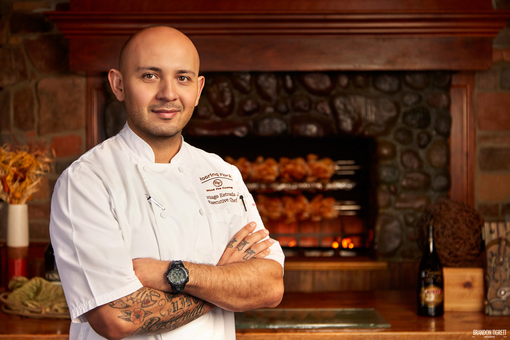 Executive Chef Portrait - The Roaring Fork, Scottsdale Santiago Estrada