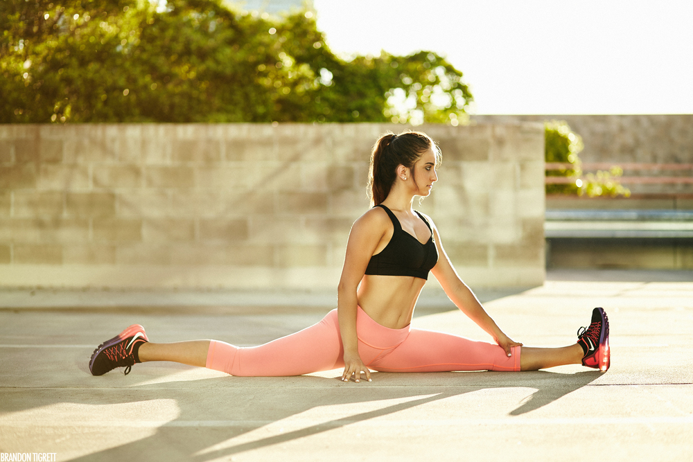 Lululemon | urban fitness lifestyle photography | Mary Pevtsov