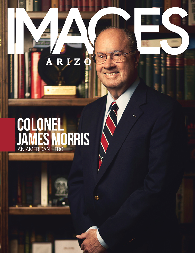 Army Special Forces Veteran Jim Morris Images AZ Cover