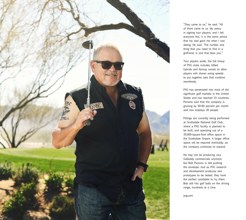 Bob Parsons | PXG | GoDaddy Founder