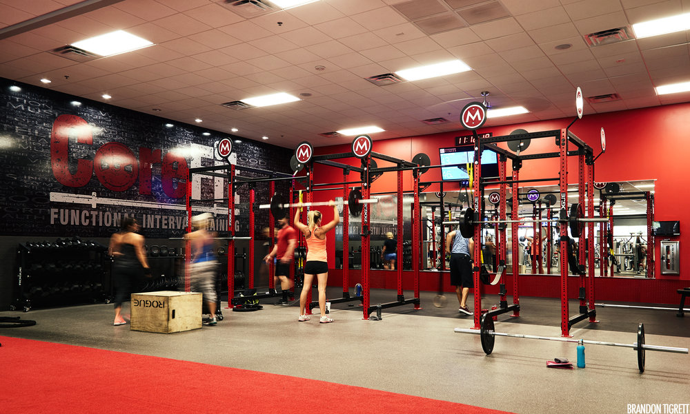 Mountainside Fitness CoreFit Zone