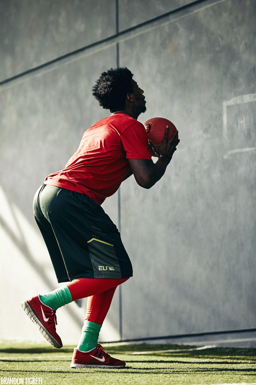 EXOS - NFL Combine - Medicine Ball Throw