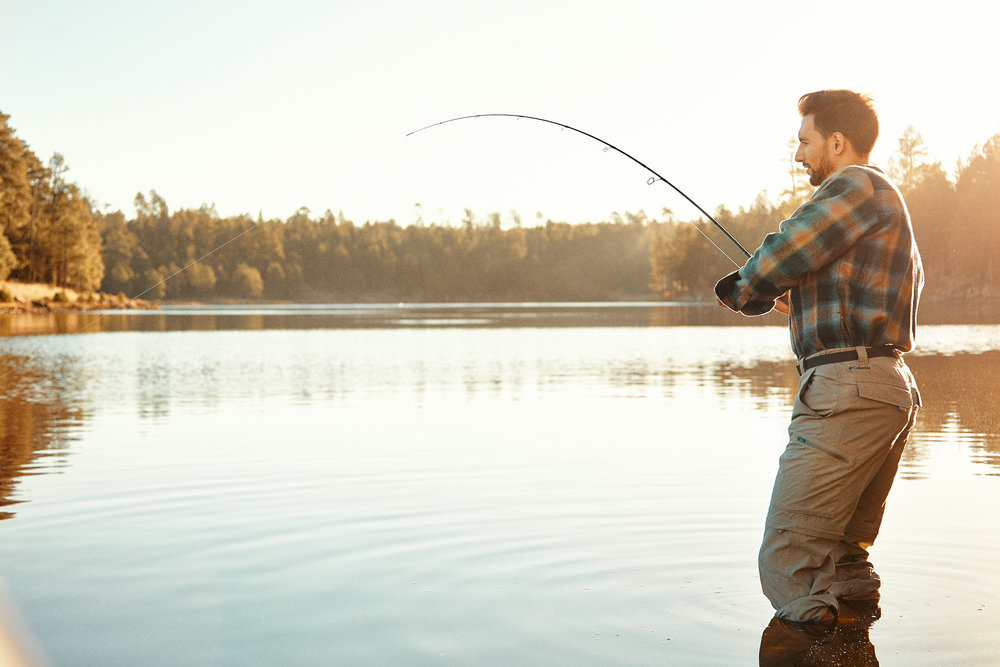 Outdoor Lifestyle Photogaphy - Fishing