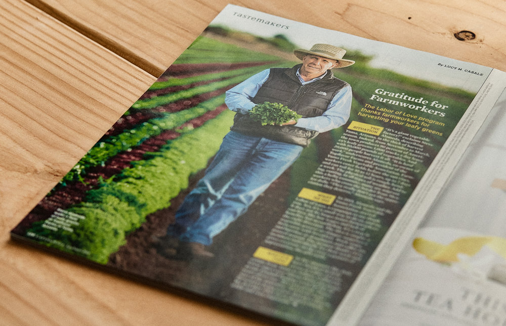 Phoenix Editorial Photographer - Eatingwell Magazine Farmer