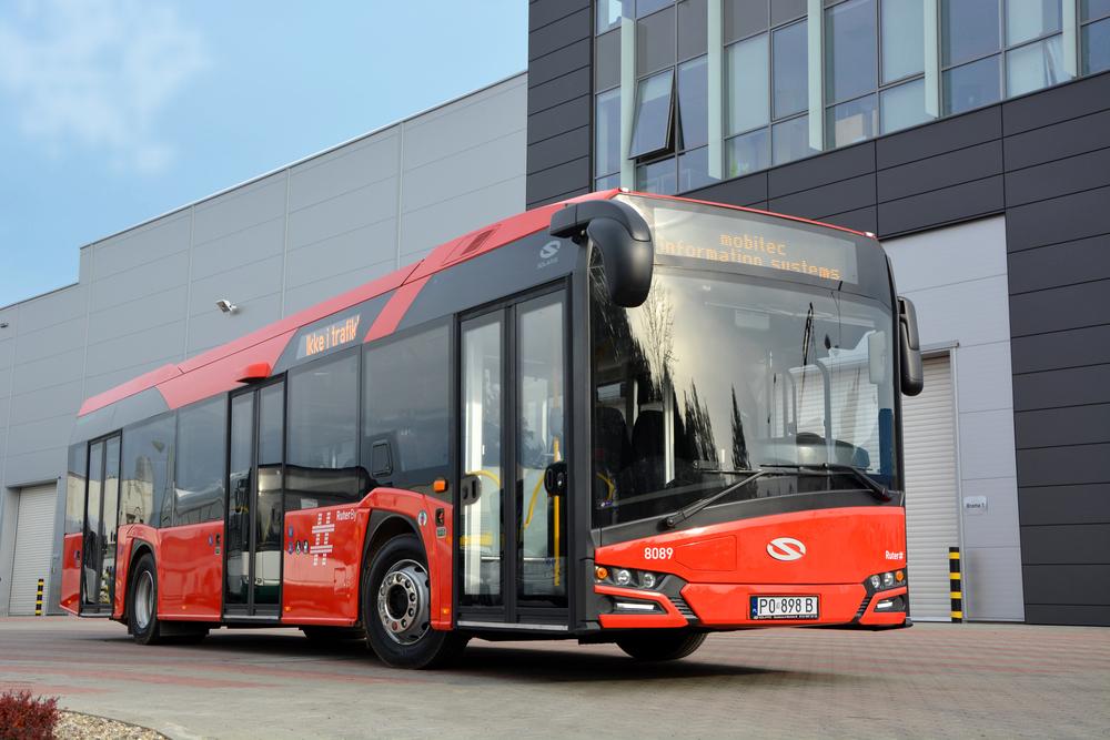 První ze dvou nových autobusů Solaris Urbino pro norského dopravce Norgesbuss AG, jenž zajišťuje dopravu na linkách MHD v Oslu. (foto: Solaris Bus & Coach)