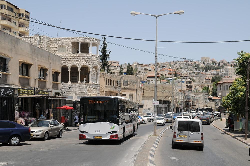 Linkové InterUrbino je v Izraeli velice oblíbené. Dalších 10 vozů přibude na silnice Židovského státu na jaře 2016. (foto: Jan Kosowski)