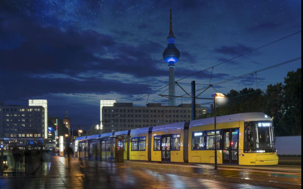 Tramvaje Bombardier Flexity Berlin si v Berlíně vedou velmi úspěšně. Po 142 objednaných vozech využil dopravce BVG opci na nákup dalších 47 tramvají. (foto: Bombardier)