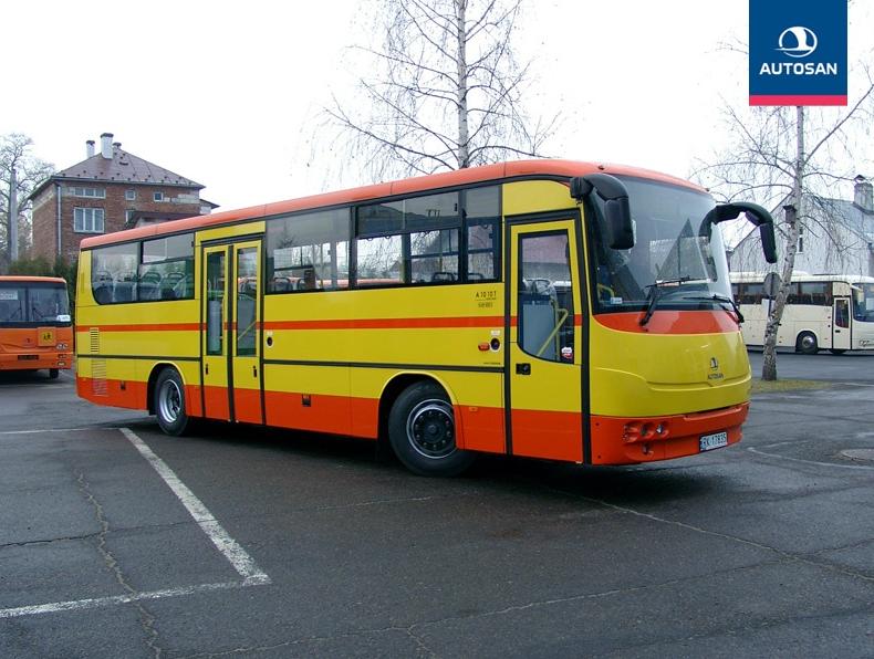 LIDER 10 je představitelem současné produkce autobusů pro linkovou dopravu. (zdroj: Autosan.pl)