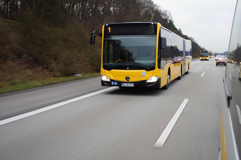 Přeprava autobusů Mercedes-Benz Citaro do Drážďan. (foto: DVB AG)