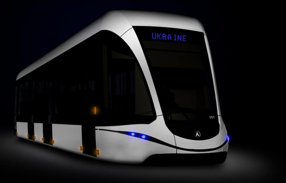 Vizualizace tramvaje CTG-18. S největší pravděpodobností by mělo jít o modifikaci typu 71-911 City Star vyráběného v Rusku. (zdroj: CTG)