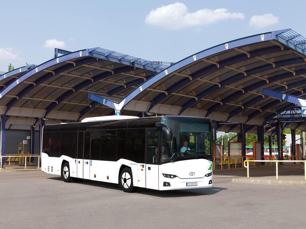InterUrbino na ilustrační fotografii výrobce. (foto: Solaris Bus & Coach)