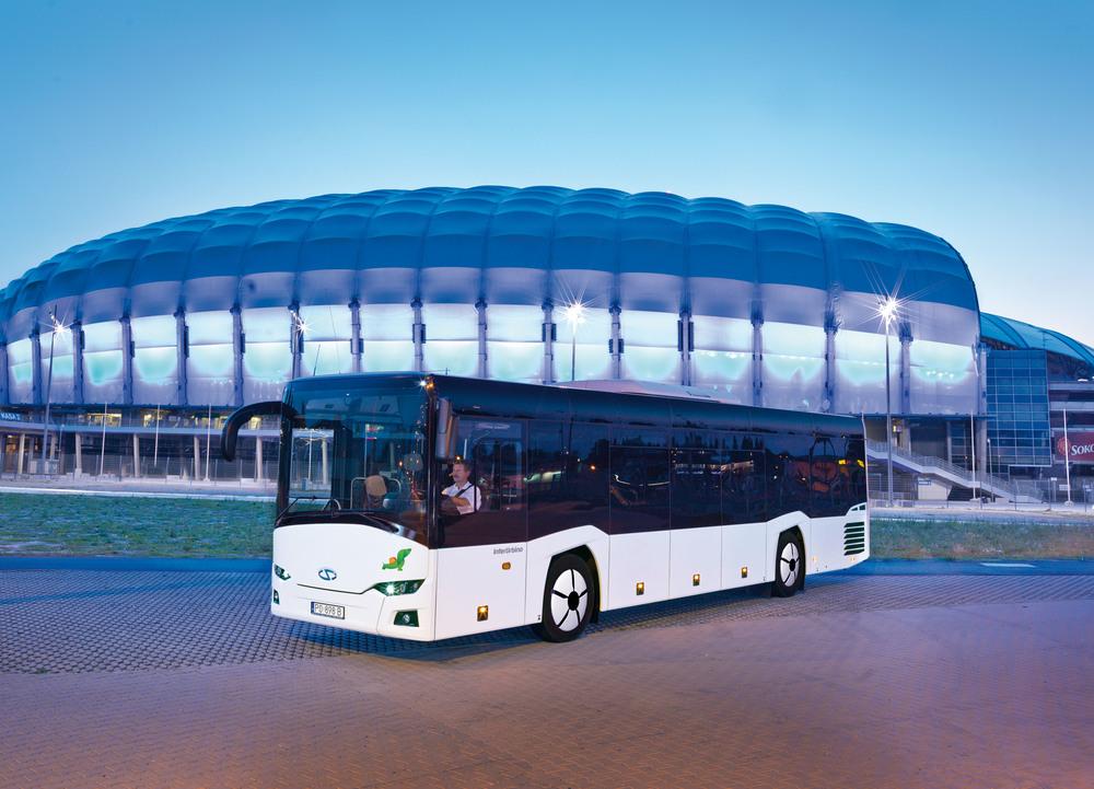 InterUrbino patří v segmentu linkových vozů mezi špičková vozidla. (foto: Solaris Bus & Coach)