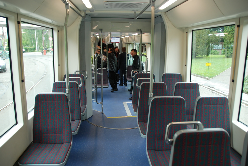Pohled do interiéru vozidla Trio 121. (foto: Libor Hinčica)