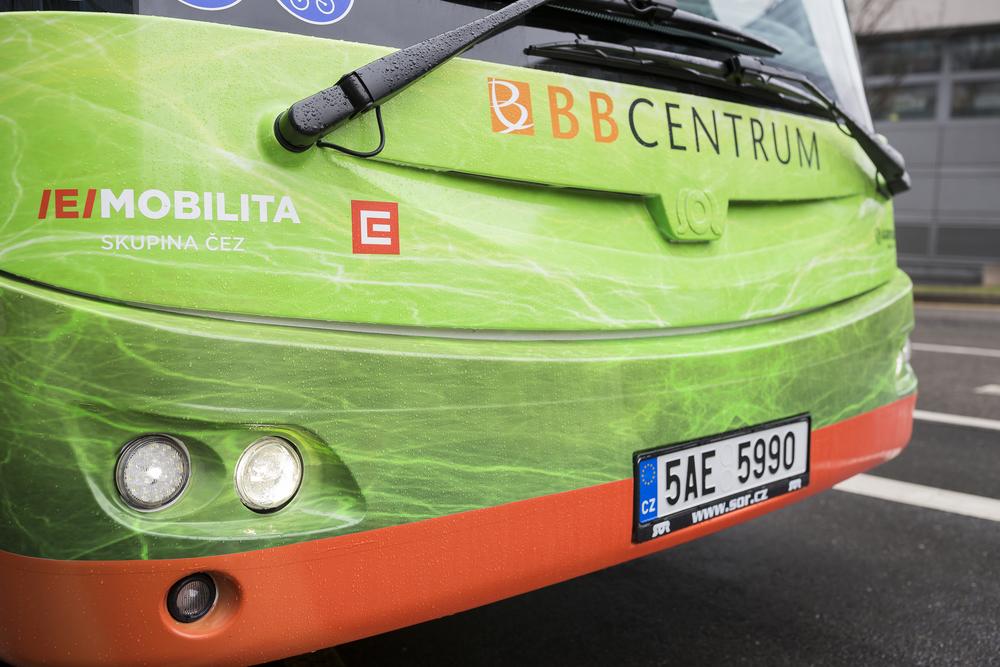 Elektrobusy byly pořízeny v provedení s designem Ing. arch. Patrika Kotase. (foto: ARRIVA PRAHA)