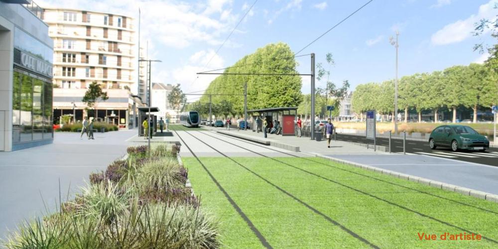 Nové tratě mají mít tradičně také vysokou estetickou úroveň. (zdroj: http://www.tramway2019.com/)