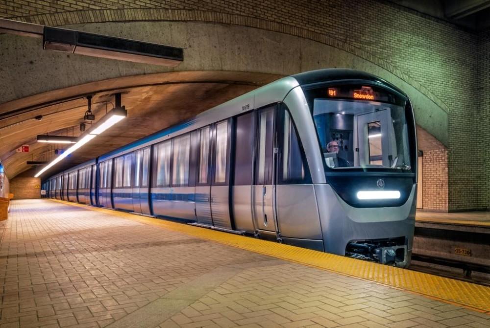 Nové soupravy metra v kanadském Montrealu. (zdroj: Bombardier)