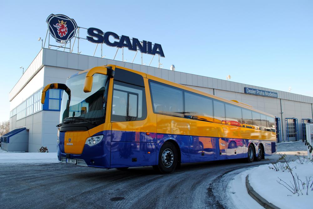 Nová Scania OmniExpress společnosti BORS Břeclav. (foto Scania)