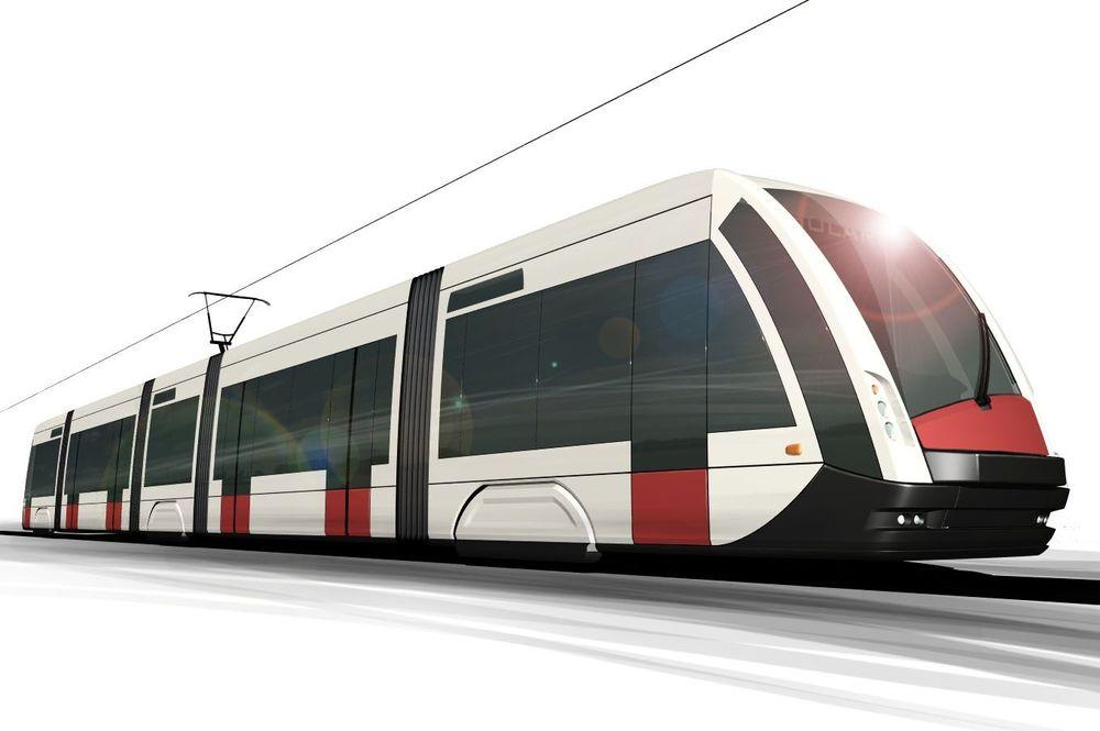 Solaris Tramino - vizualizace prototypu. (ilustrační foto, zdroj: Solaris Bus & Coach)