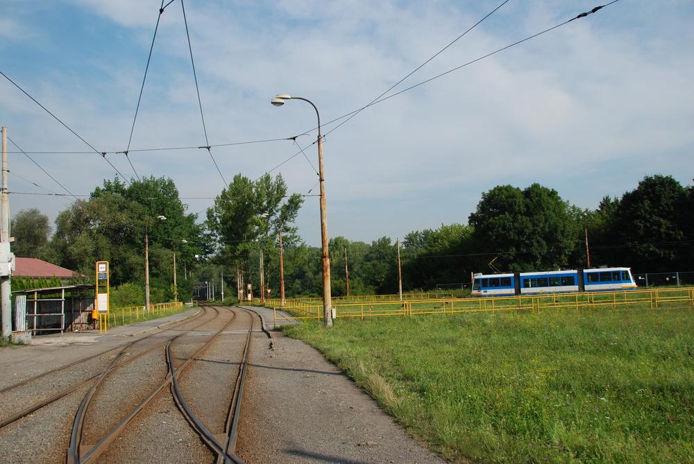 Původní tramvajová smyčka Hranečník (foto: Libor Hinčica)