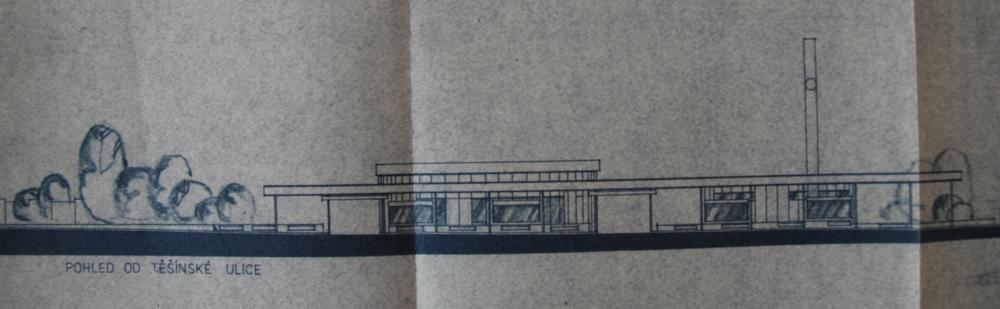 Původní návrh terminálu z roku 1980. (sbírka: Libor Hinčica)