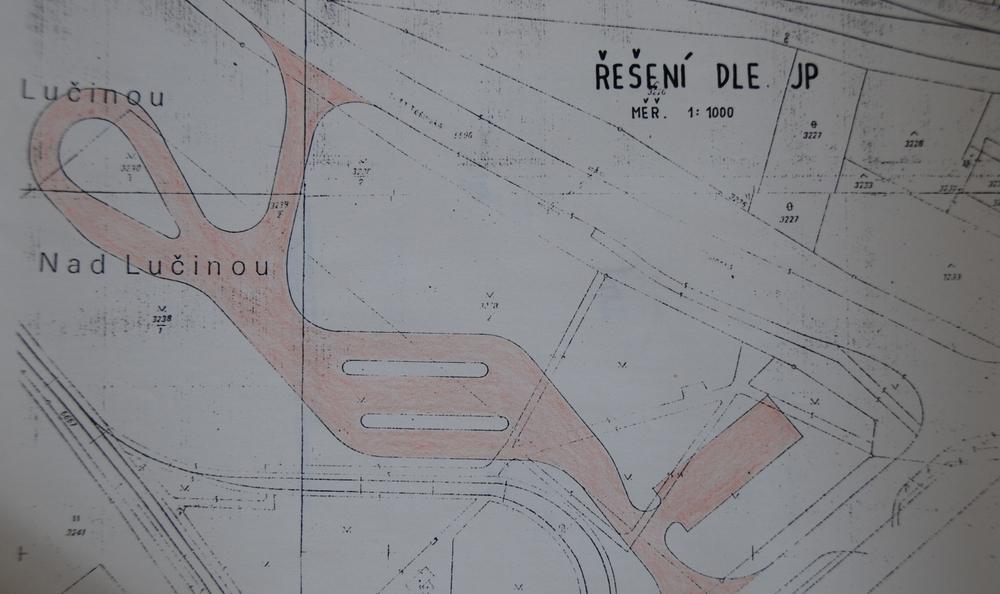 Návrh terminálu z roku 1991. S přesunem a rekonstrukcí tramvajové smyčky se v té době vůbec nepočítalo. (sbírka: Libor Hinčica)