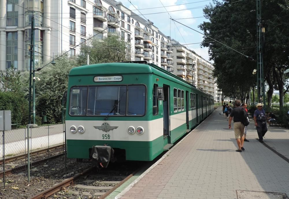 Linka H7 by jako jediná měla zůstat pod BKV (budapešťský DP). Čekat ji však má přestavba na tramvaj. (foto: Daniel Košťál)