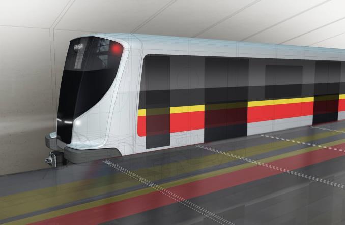 Vizualizace metra od polské firmy PESA. (zdroj: PESA)