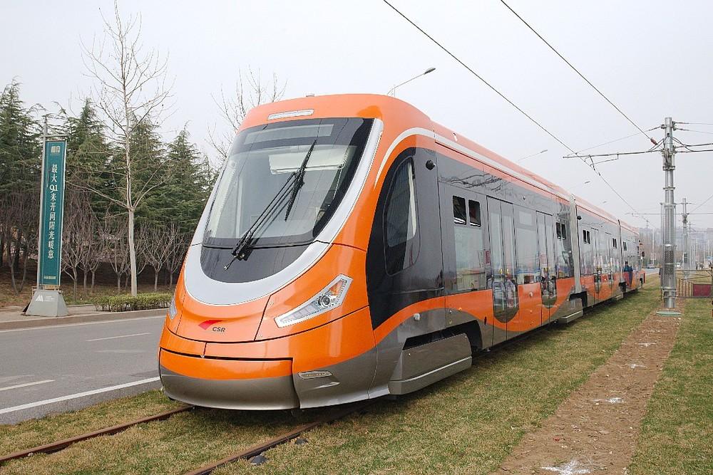 Prototypový vůz na fotografii z jara 2015. (zdroj: Škoda Transportation)