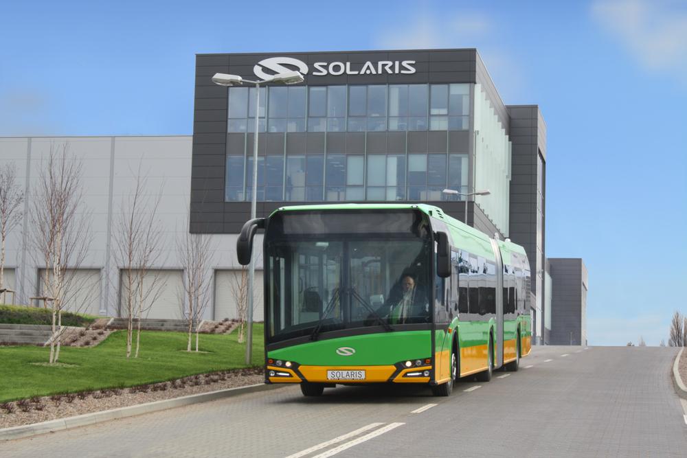 Nové Urbino si našlo cestu také do Poznaně. (foto: Solaris Bus & Coach)
