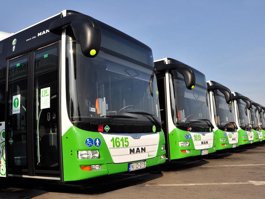 Nové autobusy pro Miskolc dodal MAN Truck & Bus. (foto: MAN Truck & Bus)