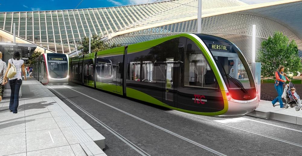 Termín na dostavbu tramvajové tratě se nyní posouvá na rok 2022. (zdroj: www.keskistram.be)