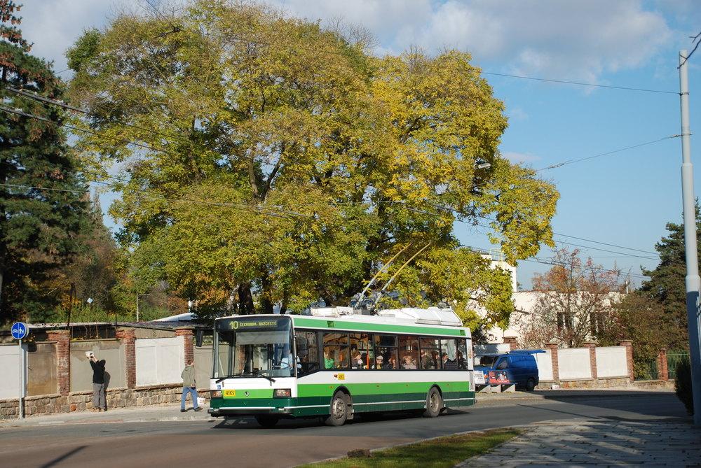 Prvními nízkopodlažními vozy v Plzni byly vozy škoda 21 TrACI. Dopravce jich pořídil celkem 18. (foto: Libor Hinčica)