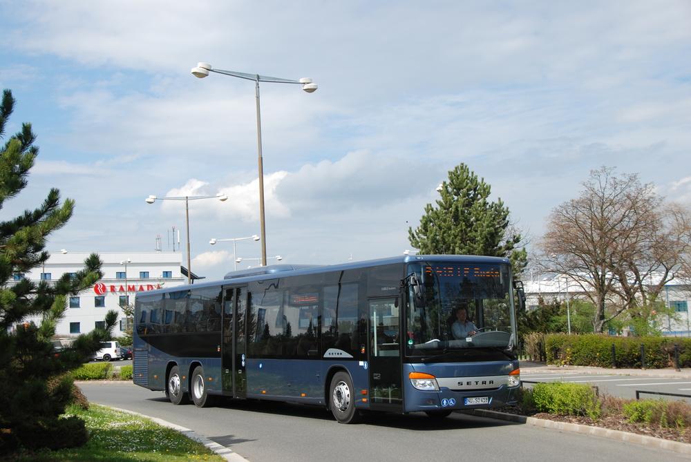 Sestra S 418 LE business představuje nejdelší třínápravovou variantu LE modelů od Setry. (foto: Libor Hinčica)