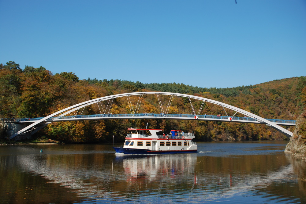 Brněnský DP je jediným v ČR, který se může pochlubit vlastní lodní dopravou. (foto: Libor Hinčica)