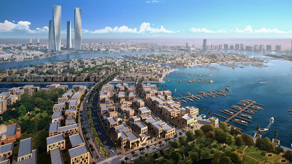 Takto by mělo město Lusail vypadat. Místní fotbalový stadion by měl v roce 2022 přivítat mistrovství světa ve fotbale. (zdroj: wikipedia.org)