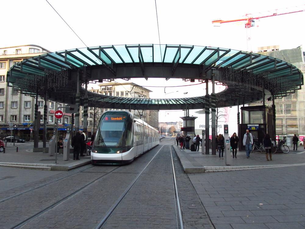 Dodavatelem nových tramvají pro Strasboug je francouzský Alstom. (foto: Ing. Filip Jiřík)