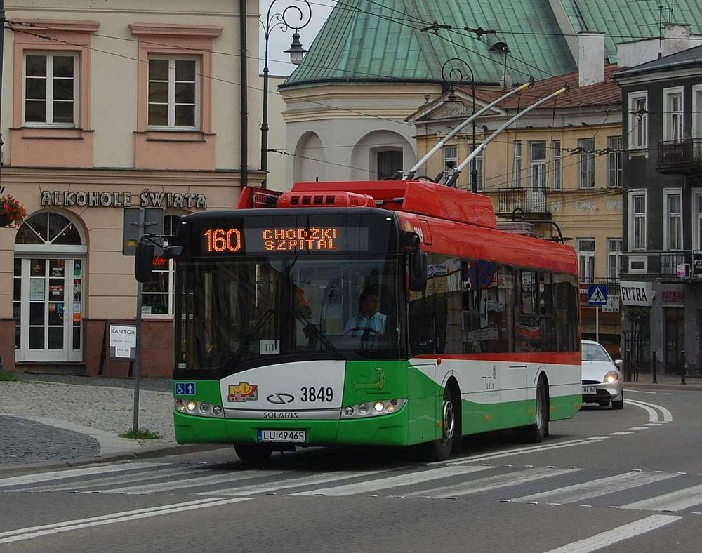 Trolejbus Solaris Trollino v Lublinu. (zdroj: Wikipedia.org)