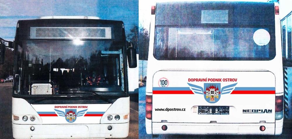 Autobus Neoplan Cityliner s pohonem na CNG na fotografiích města. (zdroj: www.ostrov.cz)