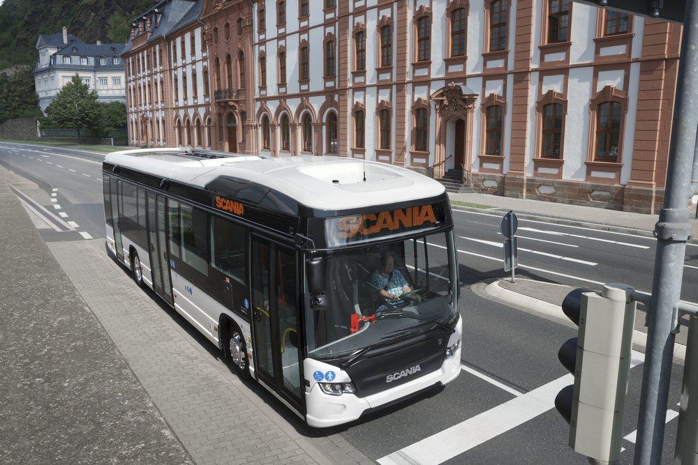 Autobus Scania Citywide Hybrid. (foto: Scania)
