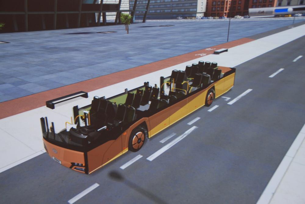 Kabriolet Solaris zatím nenabízí. Pohled slouží pro možnost prohlídky uspořádání sedadel. (foto: Libor Hinčica)