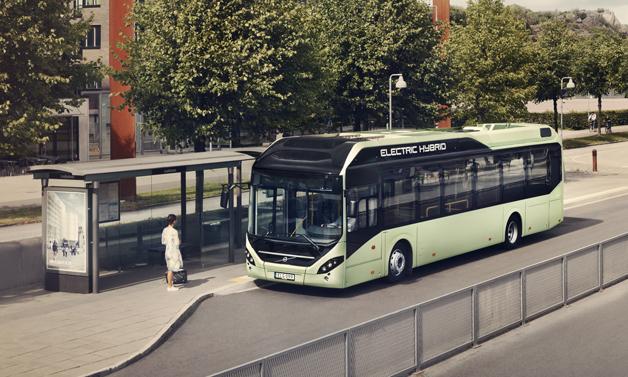 Volvo dodá do Lucemburku pět svých hybridních vozů. (foto: Volvo)