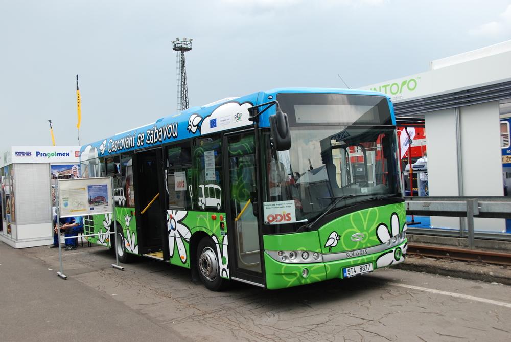 ODISbus v podobě autobusu Solaris Urbino 8,9 LE. (foto: Libor Hinčica)