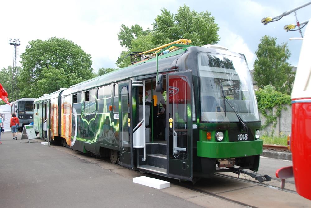 Pivní tramvaj brněnského DP přivezl na veletrh Pragoimex. (foto: Libor Hinčica)