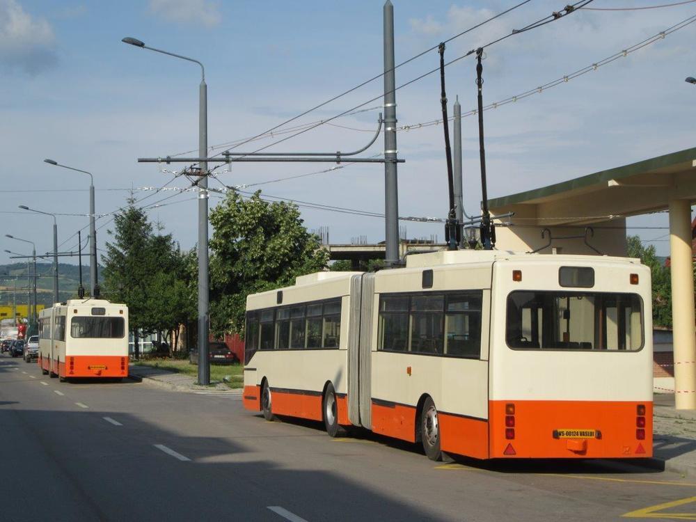 Novostavba trolejbusové linky byla financována z fondů EU. Peníze na nová vozidla a vozovnu už ovšem nezbyla. (foto: Gunter Mackinger)