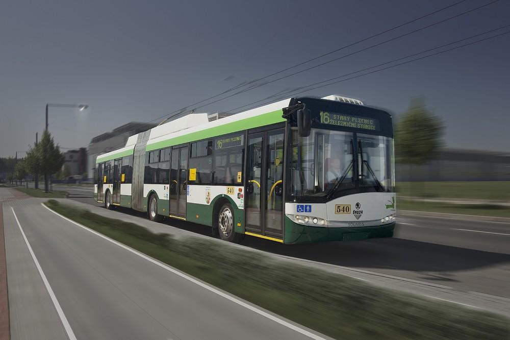 Trolejbus Škoda 27 Tr pro Plzeň. (foto: Škoda Electric)
