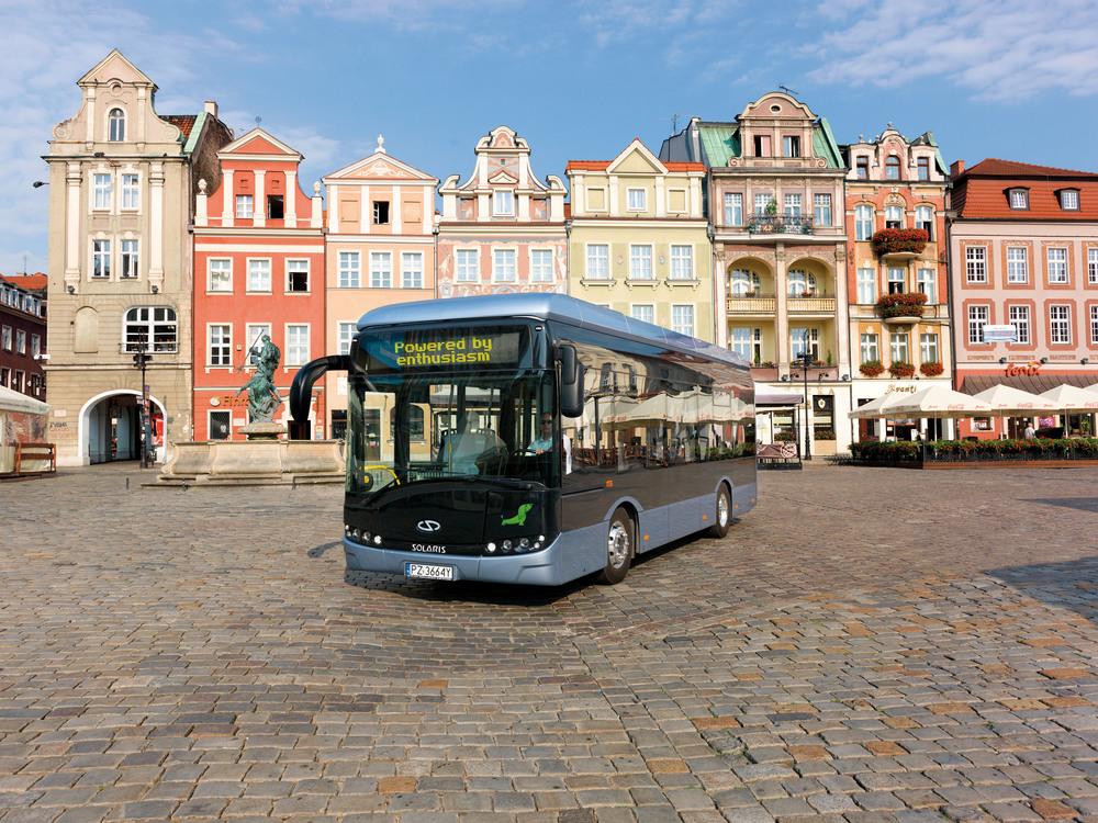 Solaris hodlá expandovat se svou technologií elektrobusů a hybridů. (foto: Solaris Bus & Coach)